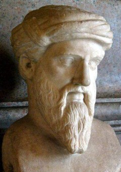 an introduction to the life of pythagoras a greek philosopher It is sometimes claimed that we owe pure mathematics to pythagoras, and he is  often called the first true mathematician but, although his contribution was.